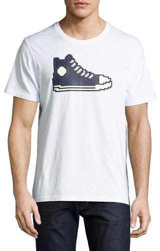 MOSTLY HEARD RARELY SEEN High-Top Sneaker Graphic Tee GEv58