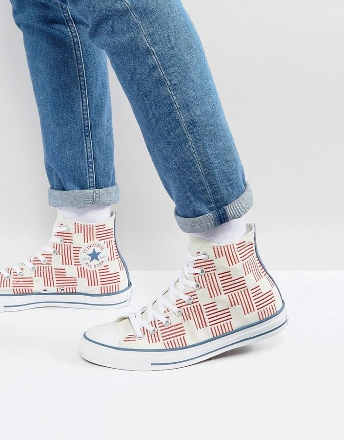5c8e96576dae ... Converse Chuck Taylor All Star Hi Printed Sneakers 155382c ...