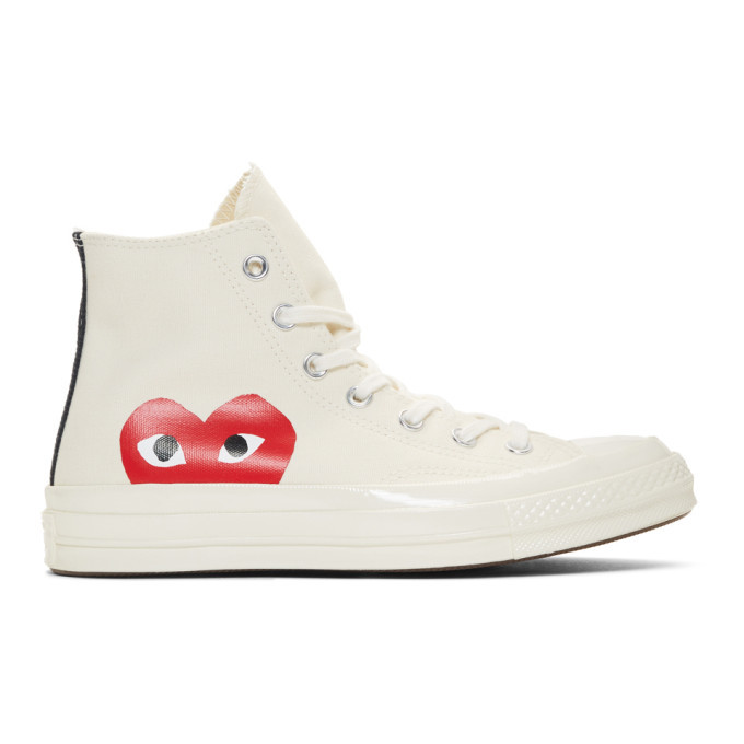 white converse with red heart - 57% OFF