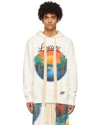 Loewe White Paulas Ibiza Printed Airbrush Hoodie