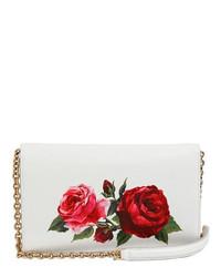 b4435a85 Dolce & Gabbana Roses Dauphine Print Leather Clutch, $1,495 ...