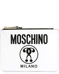 Moschino logo print clutch medium 535417