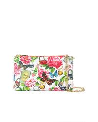 Dolce & Gabbana Secret Butterfly Print Chain Clutch