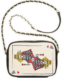 Betsey Johnson Bj33720 Poker Face Crossbody Betsey As Queen Of Hearts Lady Luck