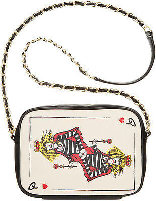 Bags Betsey Johnson Bj33720 Face Crossbody As Queen Of Hearts Lady Luck