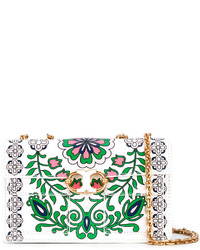 Tory Burch Floral Print Cross Body Bag