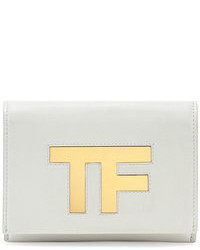 Tom Ford Tf Small Flap Crossbody Bag White