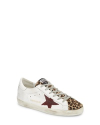 Golden Goose Genuine Calf Hair Sneaker