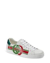 Gucci New Ace Logo Sneaker
