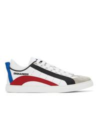 DSQUARED2 White 551 Box Sole Sneakers
