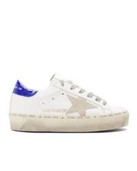 Golden Goose White Hi Star Sneakers