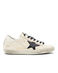 Golden Goose White Super Sstar Sneakers