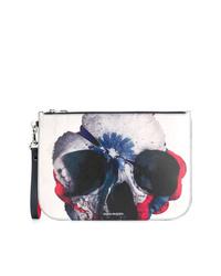Alexander McQueen Skull Print Clutch