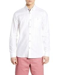 Ted Baker London Emuu Slim Fit Linen Shirt