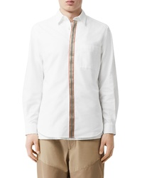 Burberry Icon Stripe Slim Fit Button Up Shirt