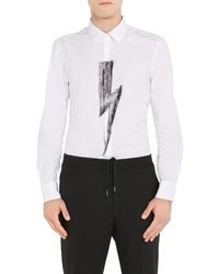 Neil Barrett Lightning Bold Poplin Shirt