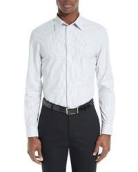 Micro print sport shirt medium 1195338