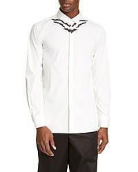 Neil Barrett Slim Fit Abstract Print Button Up Shirt