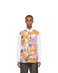 Comme Des Garcons SHIRT White Futura Edition Print Shirt