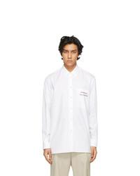 Stella McCartney White Yoshitomo Nara Edition New Saul Shirt