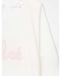 Chlo Kids Long Sleeved Logo T Shirt