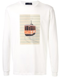 Lardini Graphic Print Jersey Top