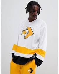 Converse Hockey Jersey In White 10007095 A01