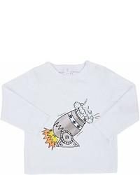 Stella McCartney Infants Georgie Cannon Print Cotton T Shirt