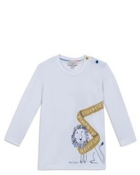 Paul Smith Junior Babys Long Sleeve Printed T Shirt
