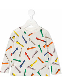 Stella McCartney Kids Spoon Print T Shirt
