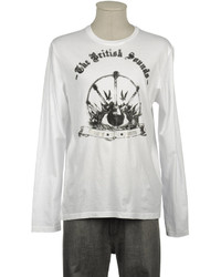 GUESS Long Sleeve T Shirts