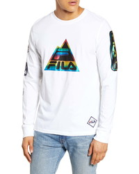 Fila Peak Long Sleeve T Shirt