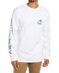 Vans Pick Up The Pieces Long Sleeve Cotton Graphic Tee