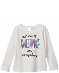 Joe Fresh Printed Long Sleeve Tee
