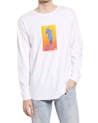 Vans Reality Coral Long Sleeve Graphic Tee