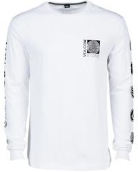 Volcom Sinner Graphic Print Logo Long Sleeve T Shirt