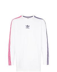 adidas Sportivo Contrast Stripe Long Sleeve T Shirt