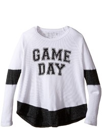 The Original Retro Brand Kids Game Day Long Sleeve Inset Thermal Girls Clothing