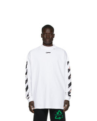 Off-White White Caravaggio Long Sleeve T Shirt