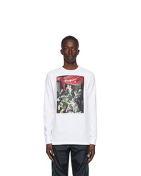 Off-White White Caravaggio Painting Long Sleeve T Shirt