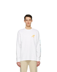Acne Studios White Dizonord Edition Cold Front Long Sleeve T Shirt