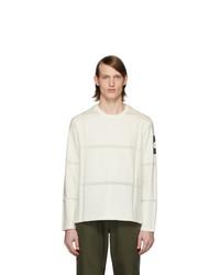 Moncler Genius White Maglia Long Sleeve T Shirt
