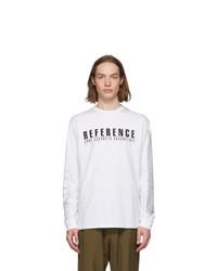 Yang Li White Samizdat Reference Long Sleeve T Shirt