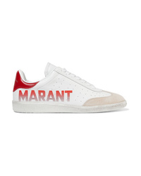 Isabel Marant Bryce Med Leather Sneakers