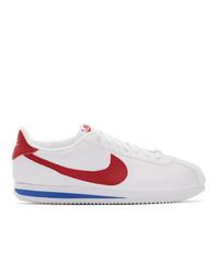 Nike White Cortez Basic Sneakers