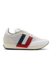 Moncler White Horace Sneakers