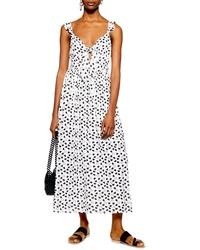 Topshop Heart Knot Maxi Dress