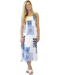 Printed maxi dress medium 541830