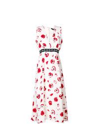 Proenza Schouler Sleeveless Long V Neck Dress