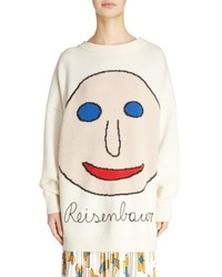 Reisenbauer intarsia face sweater medium 4913509